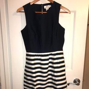 Vineyard Vines stripes and solids dress